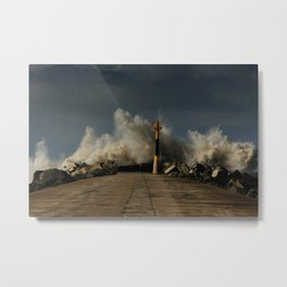 Dark Swell Metal Print