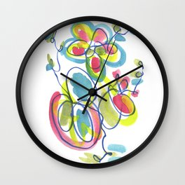 Entwining Vines Wall Clock