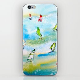 Windsurfing 1 iPhone Skin