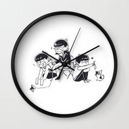 THE HOLY TRINITY PT II Wall Clock