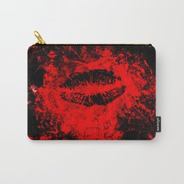 Gothic Bloody Kiss Carry-All Pouch