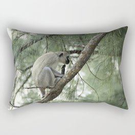 Monkey Itch Rectangular Pillow