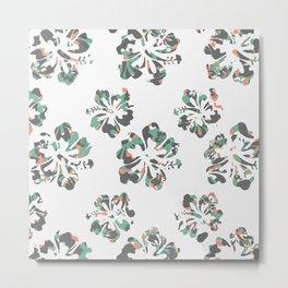 Surf Flower Metal Print