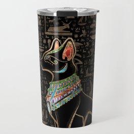 Egyptian Cat - Bastet  Travel Mug