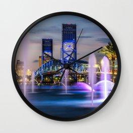 Main Street Bridge Wall Clock