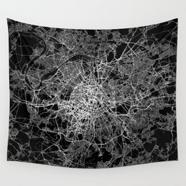 Paris map #2 Wall Tapestry