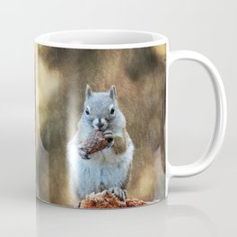 Squirrel with a Pine Cone Coffee Mug