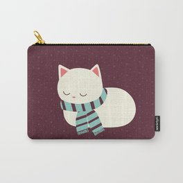 Sleeping Kitty Carry-All Pouch