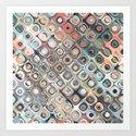 Geometric Pastels Pattern by perkinsdesigns