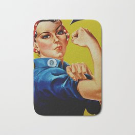 We Can Do It - WWII Poster Bath Mat