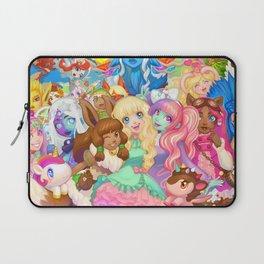 Dollightful Banner Art 2018 Laptop Sleeve
