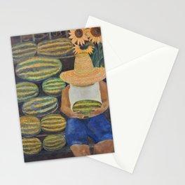 Watermelon Lady Stationery Cards