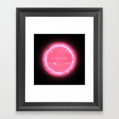 Love star  2BX999 Framed Art Print