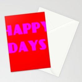 Happy Days 1 Stationery Cards