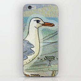 The Seagull and the Lighthouse iPhone Skin