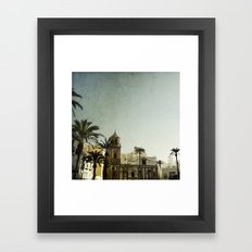 Where The Guadalquivir meets the sea Framed Art Print
