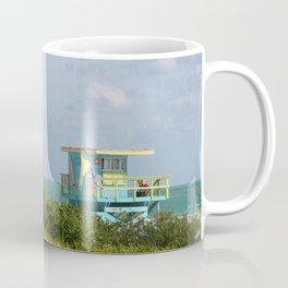 Lifegard Station At South Beach Miami Coffee Mug