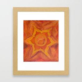SVADHISTHANA Framed Art Print