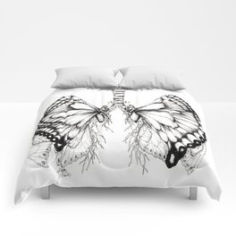 Butterfly Lungs Comforters