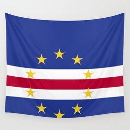 Cape Verde flag emblem Wall Tapestry