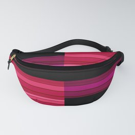 An abstract geometric pattern . Alex 3 Fanny Pack