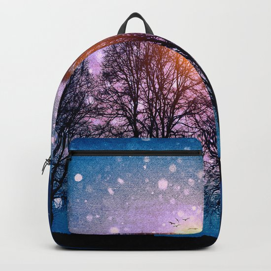 Sounds of winter - HOLIDAZE Backpack