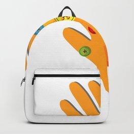 Hand Made Gauntlet Backpack