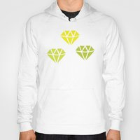 diamonds Hoodies featuring Diamonds by evannave