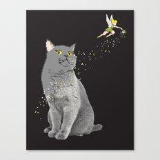 pixel dust Canvas Print