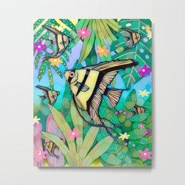 Angelfish No. 4 Metal Print