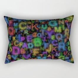 Alphabet Colours Rectangular Pillow