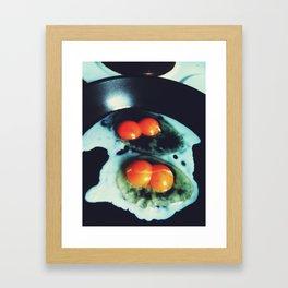 Double Yolk I Framed Art Print