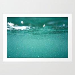 Ocean Surface Art Print