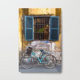 Savonnerie and Bicycles, Hoi An Ancient Town, Vietnam Metal Print