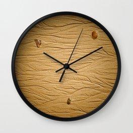 traces dans le sable Wall Clock