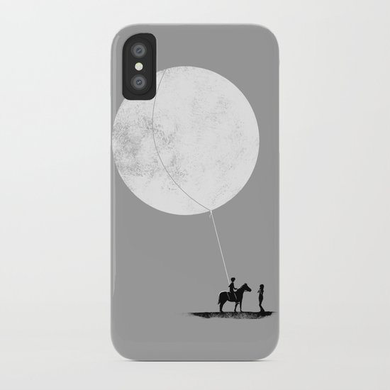 do you want the moon? iPhone Case