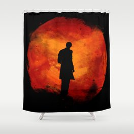 Rings of Akhaten - 11th Doctor Shower Curtain