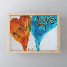 Love duo | Duo d'amour Framed Mini Art Print
