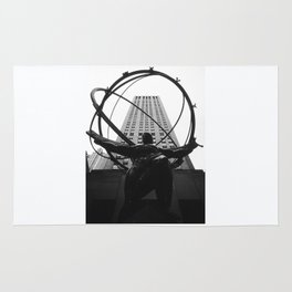 Atlas at the Rockefeller Center, New York Rug