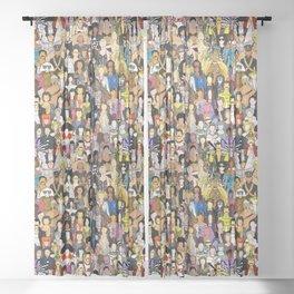 DETOUR Sheer Curtain