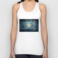 islam Tank Tops featuring Somalian national flag - Vintage version by Bruce Stanfield