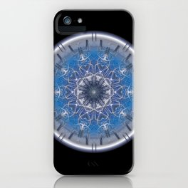 Blue Eye 1 iPhone Case