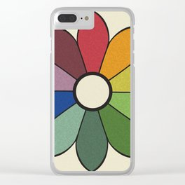 James Ward's Chromatic Circle (no background) Clear iPhone Case
