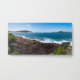 Fingal Spit, Fingal Bay, Port Stephens Metal Print