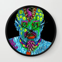 Punk Monster Wall Clock