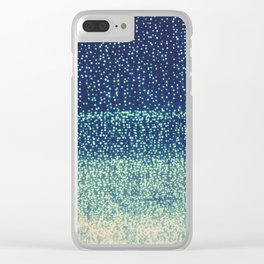 downtown Los Angeles at night photograph. Starry Night Clear iPhone Case