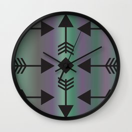 Point Me in the Right Direction Wall Clock