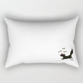 Run fox, run Rectangular Pillow