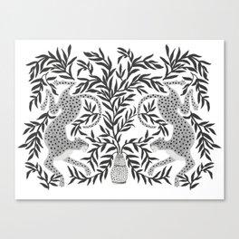 Jaguar Dance Canvas Print