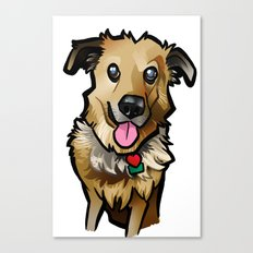 Cody's Pooch Canvas Print